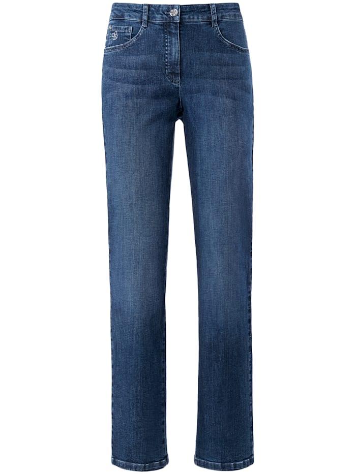 "Basler 5-Pocket-Jeans ""Norma"" mit Metallapplikationen, blue denim"