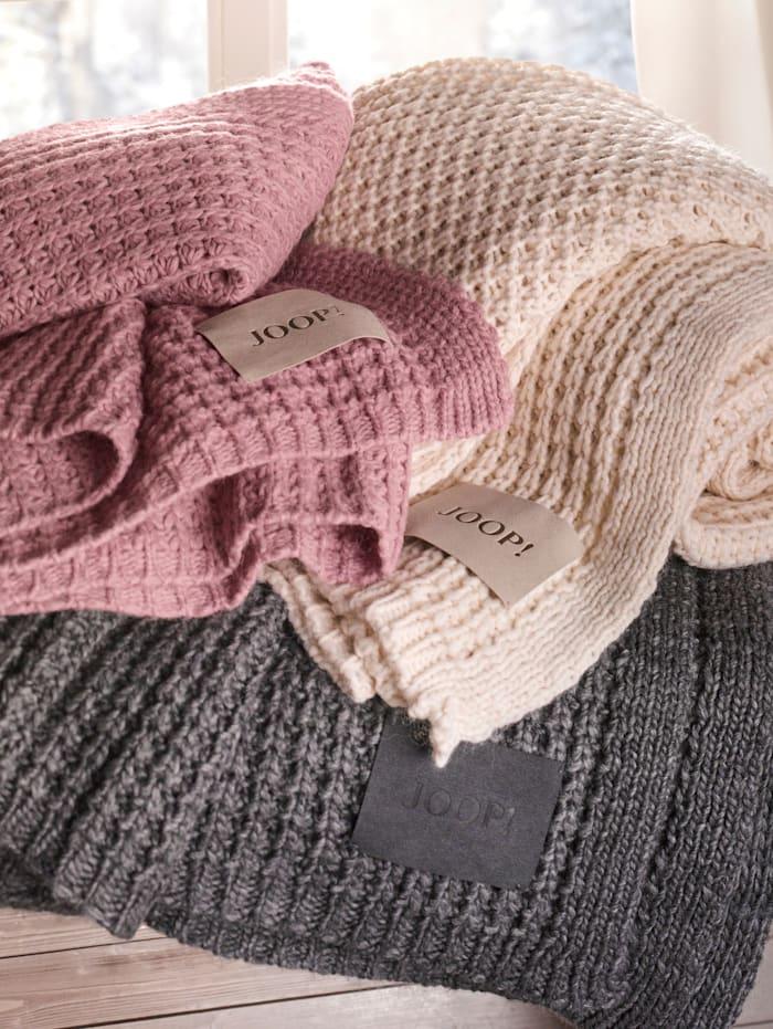 JOOP! Plaid 'Knit', Beige