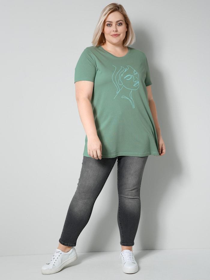 Jeans in angesagter Knöchellänge