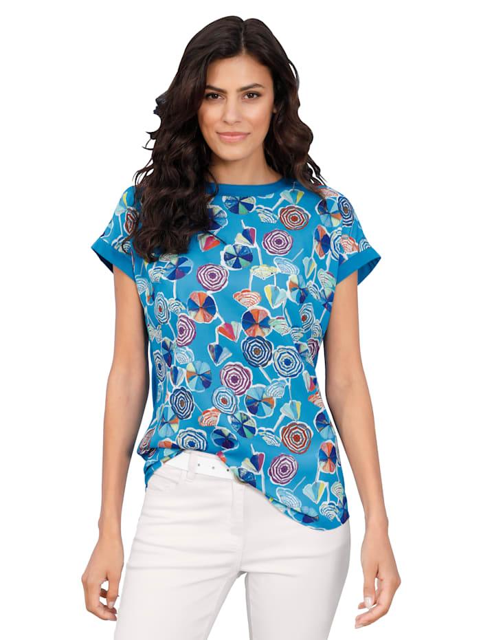 AMY VERMONT Shirt mit Druck im Vorderteil, Multicolor