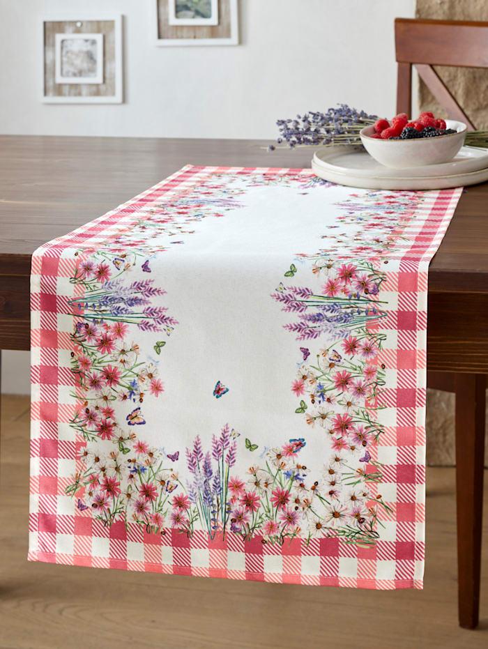 Raebel Tischwäsche 'Diandra', Rosé/Creme-Weiß