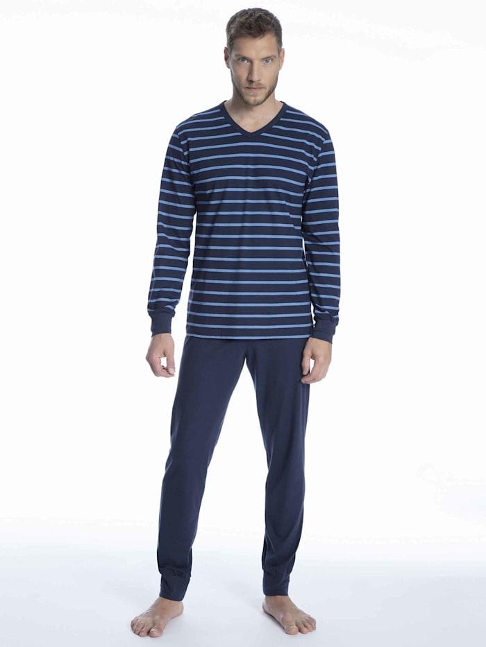 Bündchen-Pyjama Made in Europe