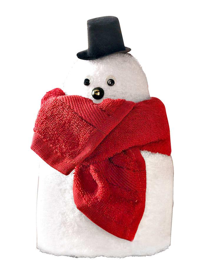 Kleinmann Lahjasetti, lumiukko, valkoinen