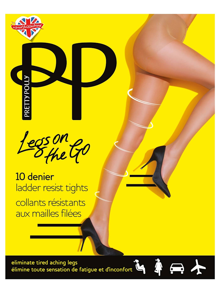 Legs on the Go 10D Ladder Resist Compression Tights