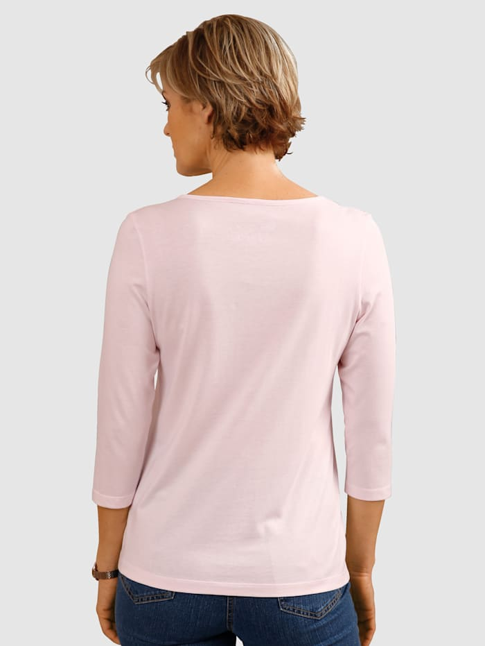Top with sweetheart neckline