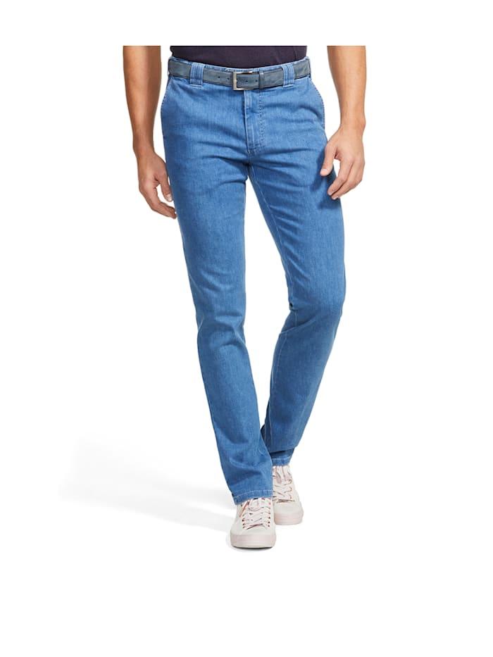 Meyer Hosen MEYER Herren Coolmax Jeans - Autofahrer und Reise Hose Modell Oslo, Light Blue Stone