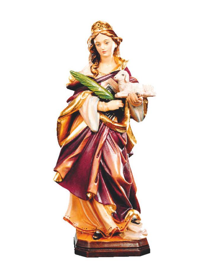 Dolfi Heilige Agnes, Mehrfarbig