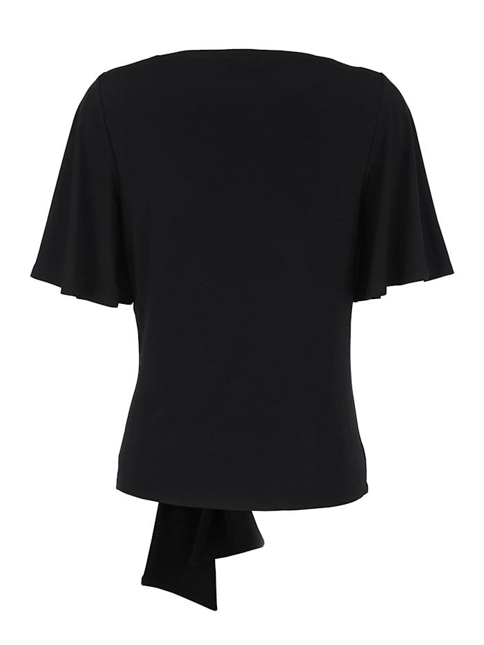 Shirt met geknoopt detail