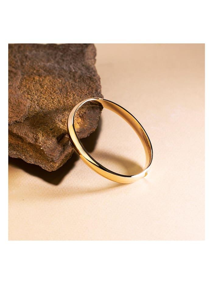 CHRIST Gold Damen-Armreif 585er Gelbgold