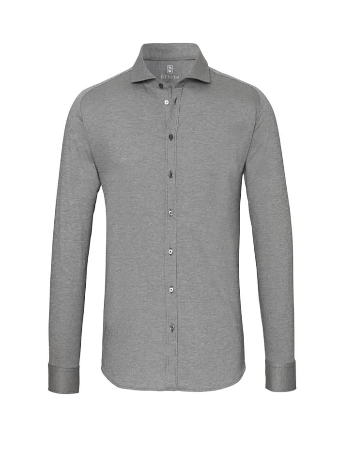 Desoto Jerseyhemd - Bügelfrei, Cotele black