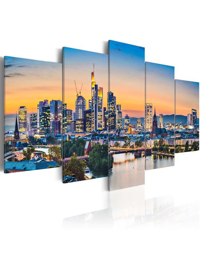 artgeist Wandbild Frankfurt am Main, Germany, mehrfarbig