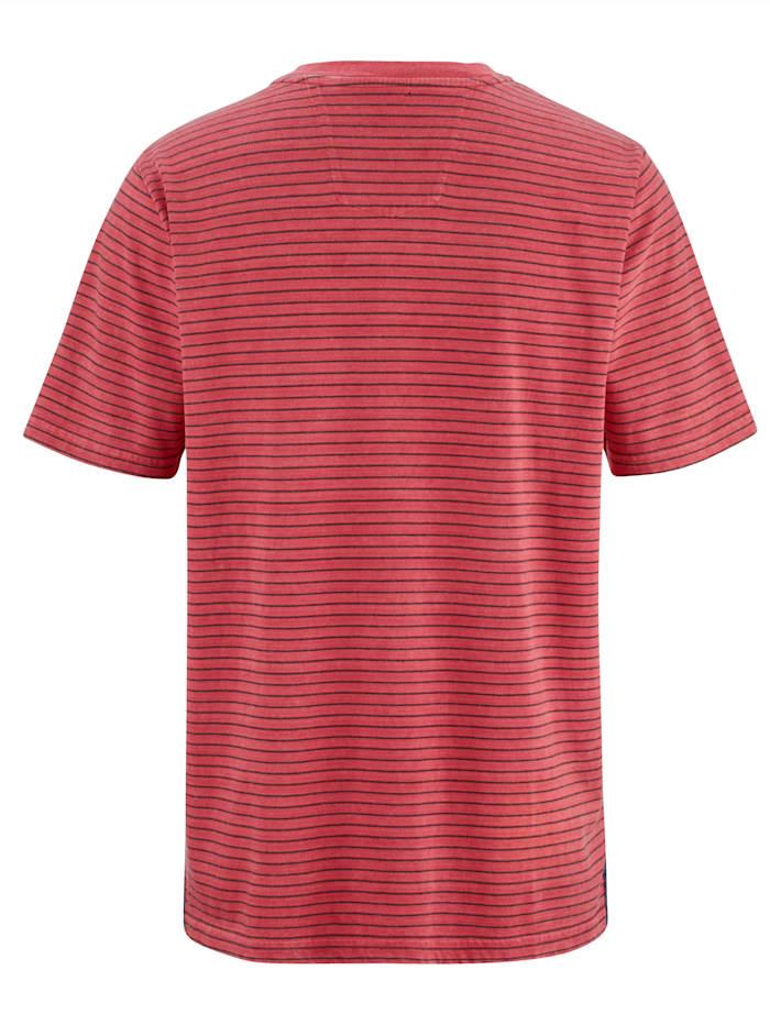 T-shirt Imprimé et délavé