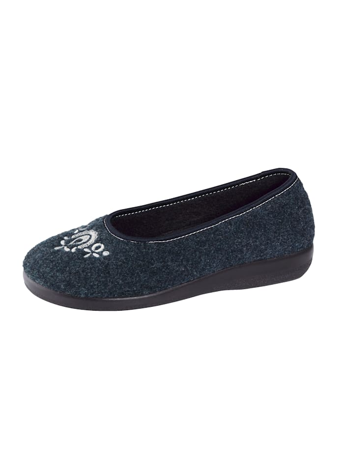 OrthoMed Pantoffel, Blauw