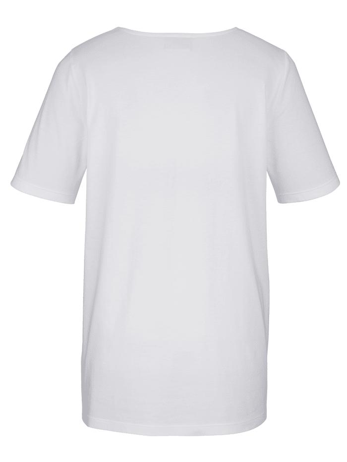 Shirt mit schöner Lochspitze