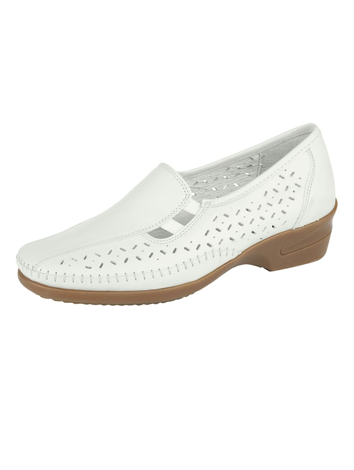 Naturläufer Loafers in a versatile design, White