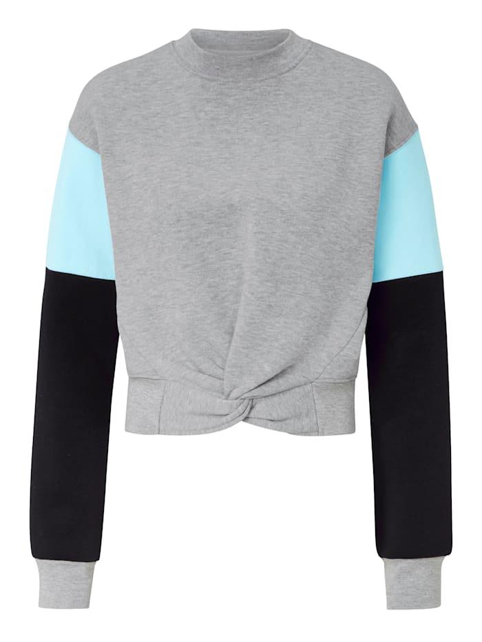 CONLEYS PURPLE Sweatshirt, Hellgrau