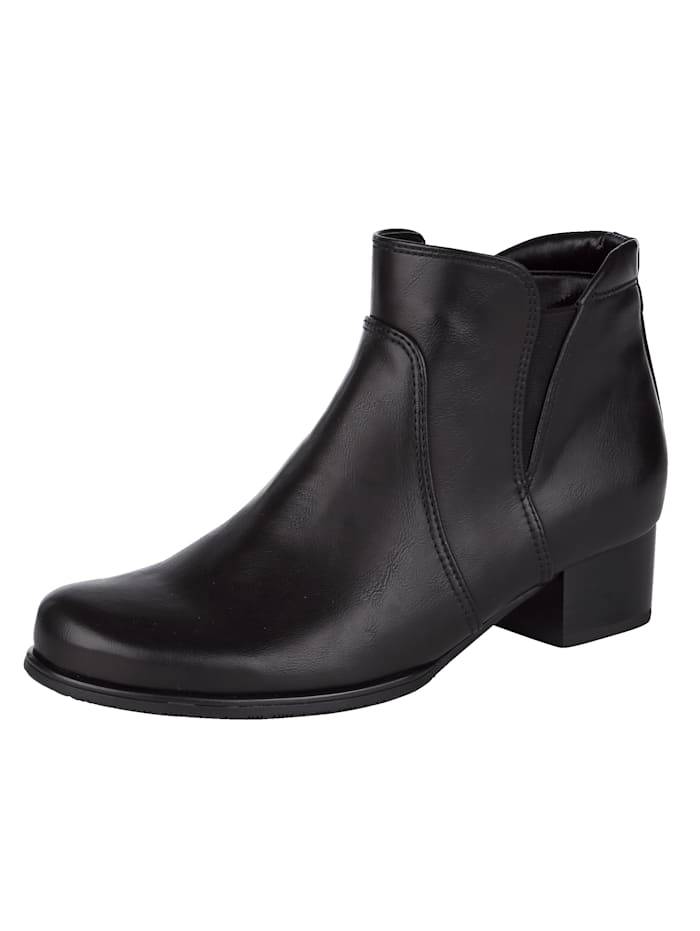Jenny Ankle boots with a cosy lining, Black