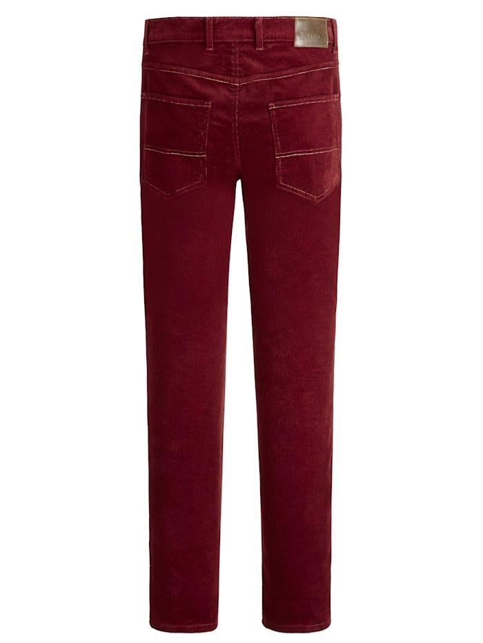 Kordové kalhoty ze super jemné kvality