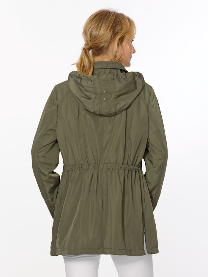 Jacket in a parka silhouette