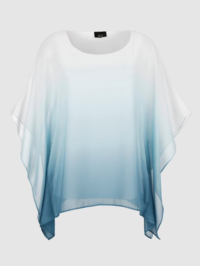 Blus med chiffong