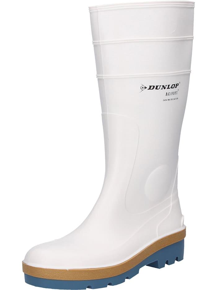 Dunlop Stiefel Tricolour, weiß