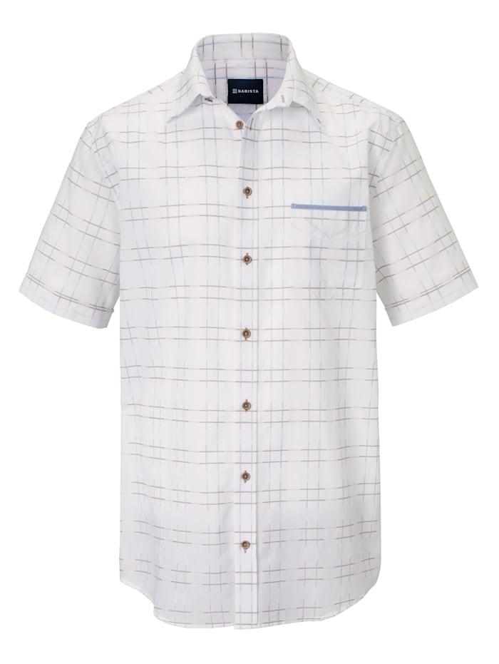 Hemd mit modischem Karomuster