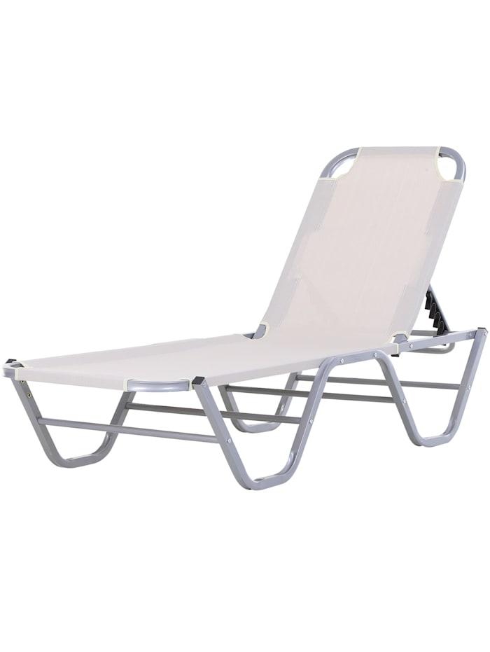 Sonnenliege mit verstellbarer Rückenlehne