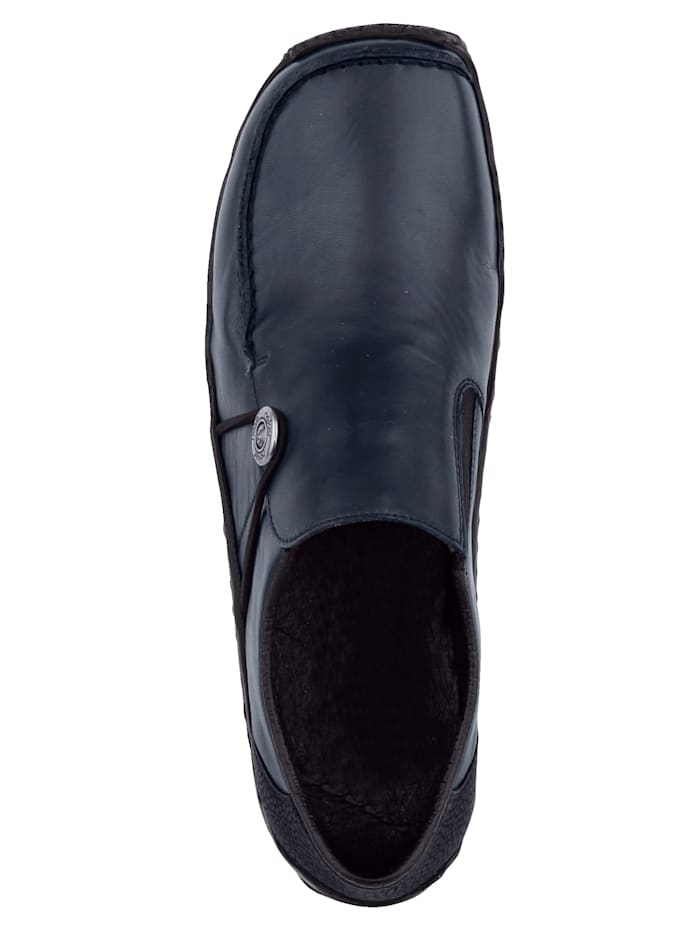 Slipper obuv s ozdobným gombíkom
