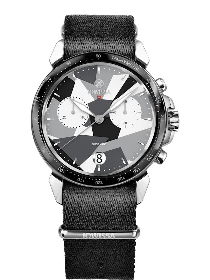 Jowissa Quarzuhr LeWy 15 Swiss Men's Watch, grau