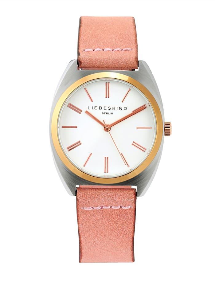 LIEBESKIND Berlin Armbanduhr, Rosé