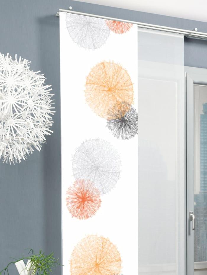 """Home Wohnideen Panneau japonais """"RAWLINS"""", Orange"""