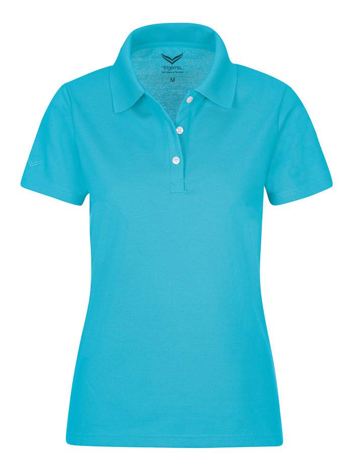 Damen Poloshirt aus Baumwolle