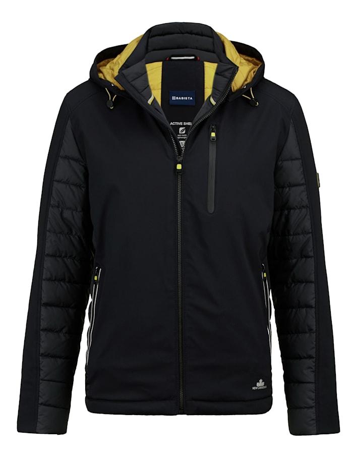 Softshell jas met lichte, warme voering