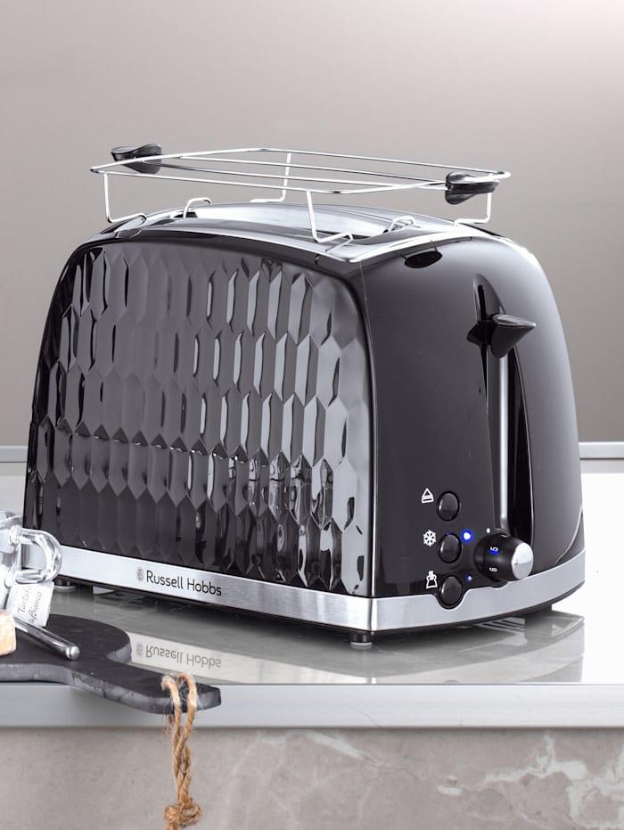 Russell Hobbs Toaster 'Honeycomb', schwarz