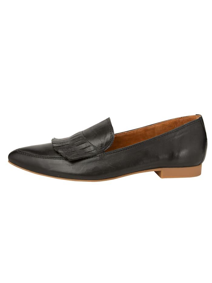 Loafer aus weichem Kalbsnappaleder