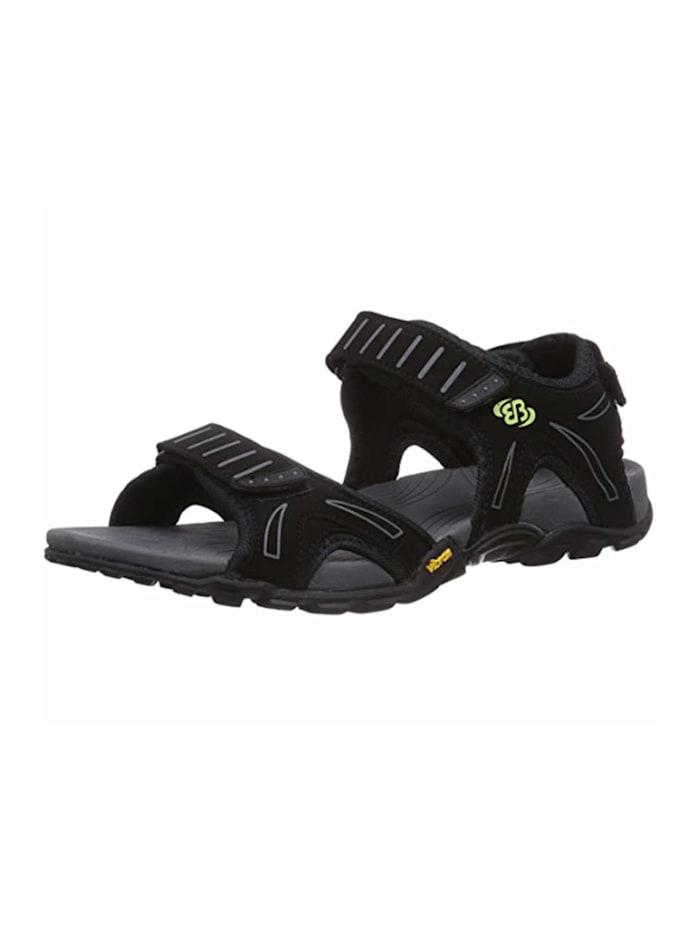 Brütting Sandalen, schwarz