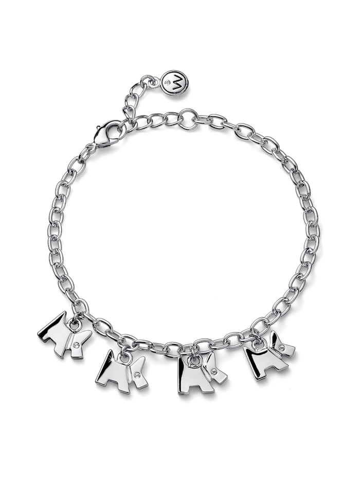 Oliver Weber Armband Doggy, weiss