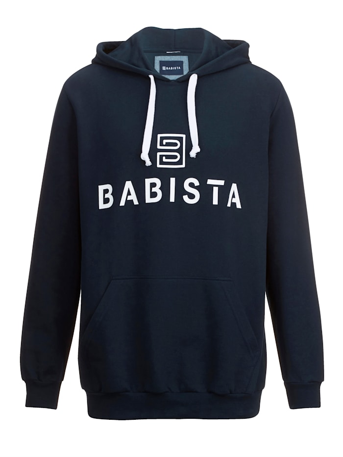 BABISTA Sweatshirt in typische hoodiestijl, Marine