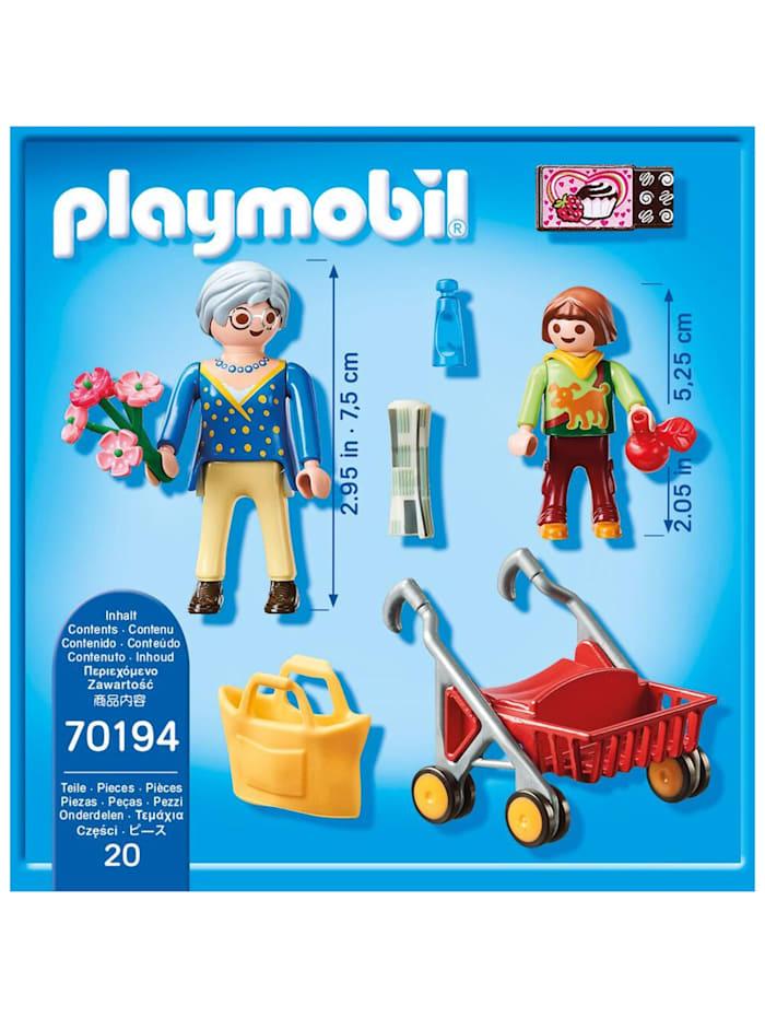Konstruktionsspielzeug Oma mit Rollator
