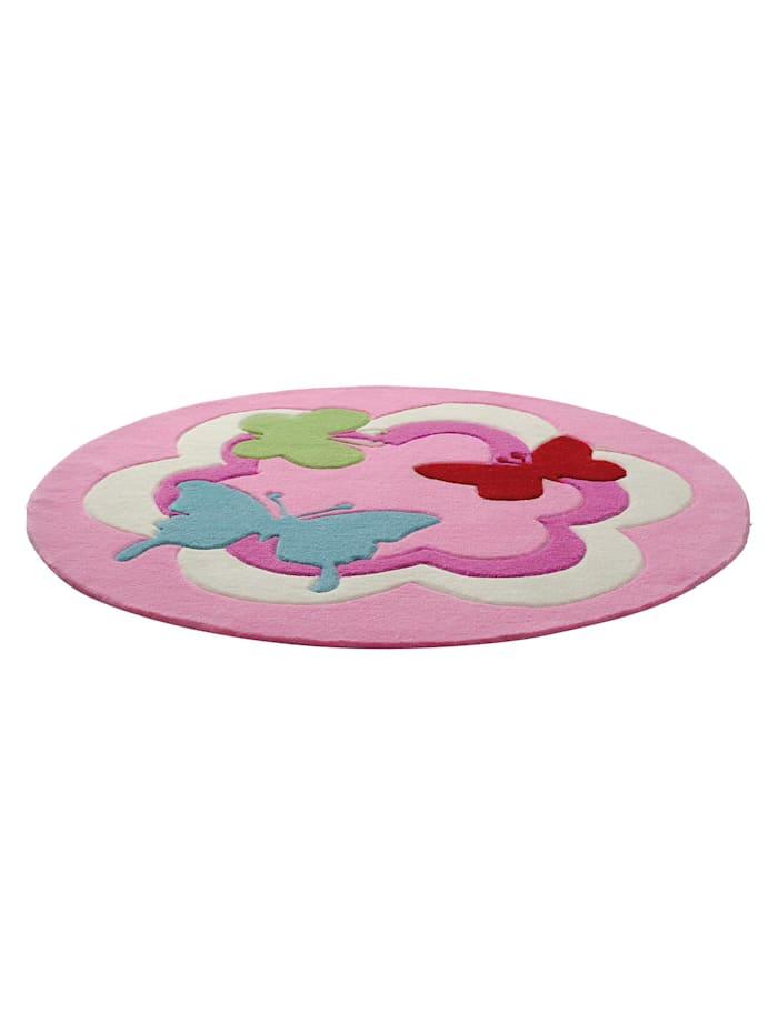 Esprit Esprit Teppich Butterfly Party, rosa