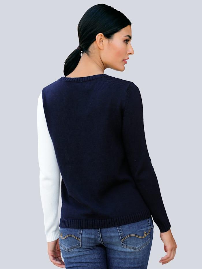 Pullover mit Blumenmotiv