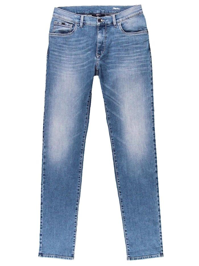 Engbers Jeans 5-Pocket Superstretch, Hellblau