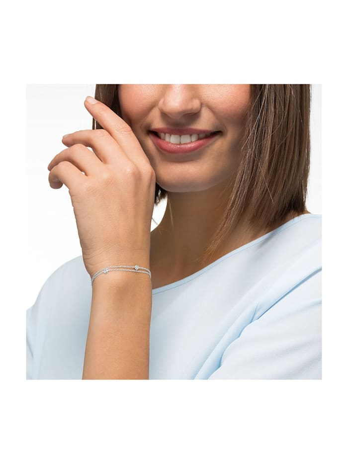 CHRIST Diamonds Damen-Armband 585er Weißgold 3 Diamant