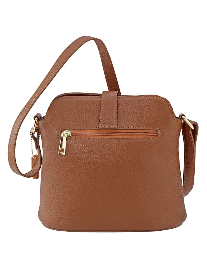 Shoulder bag with elegant clasp