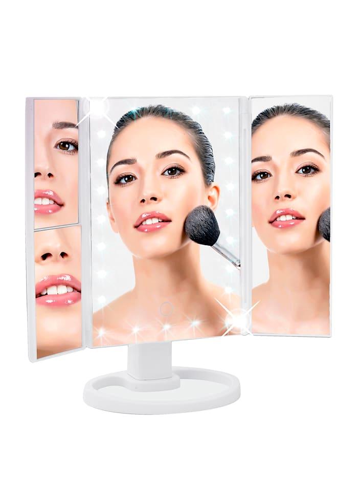 LED-valollinen meikkipeili