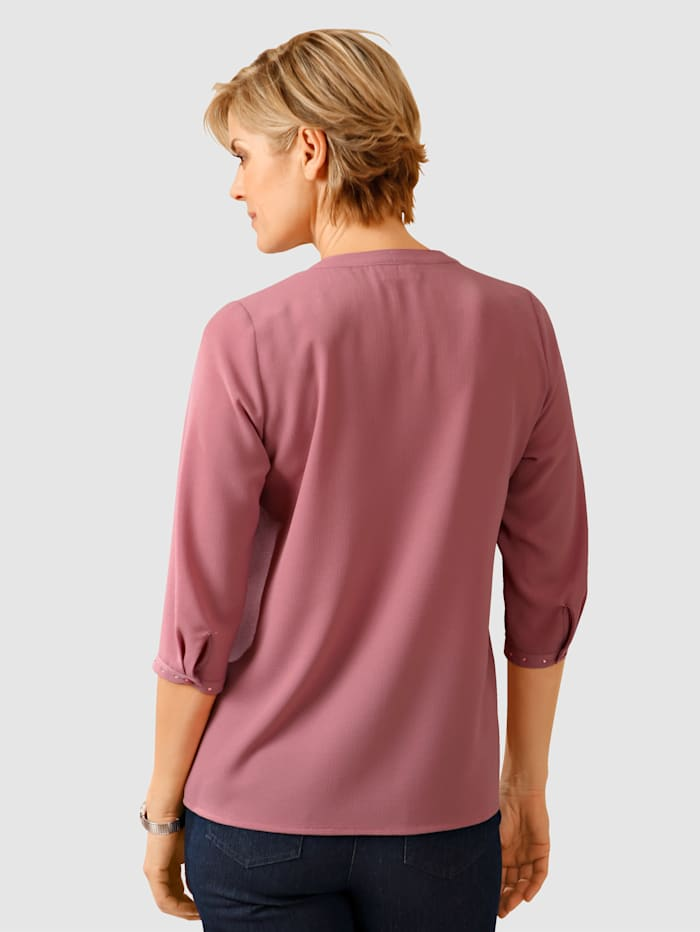 Blouse with decorative detailing