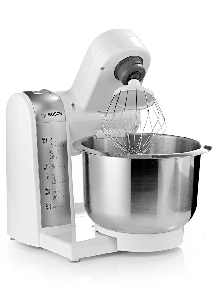 Bosch Bosch MUM4880 Küchenmaschine mit umfangreichem Zubehör, weiß