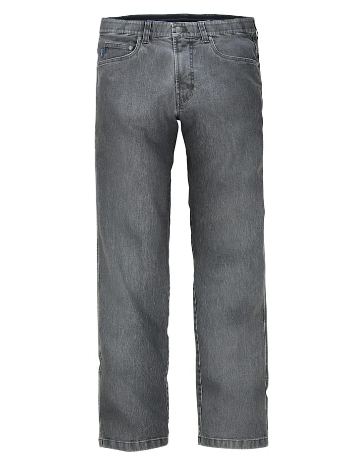 Jean 5 poches à taille intérieure extensible