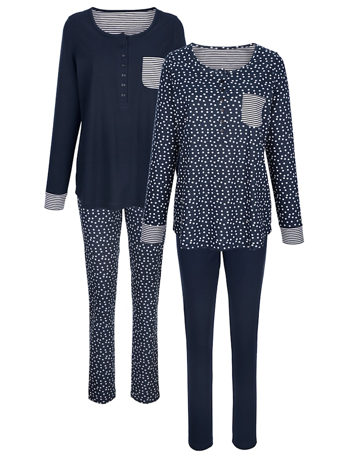 Schlafanzug aus Organic Cotton 2er Pack