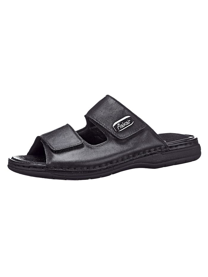 Rieker Nazouvací obuv, Černá